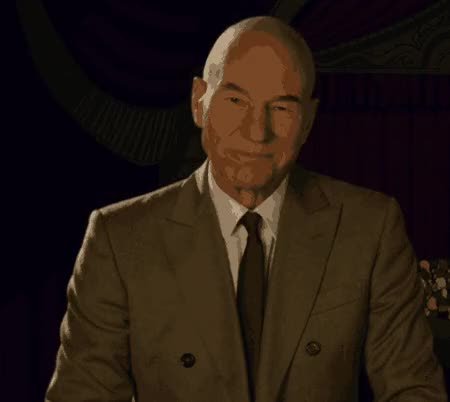 Watch and share Patrick Stewart GIFs on Gfycat