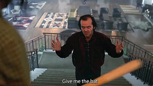Watch this bat GIF on Gfycat. Discover more bat, jack nicholson GIFs on Gfycat