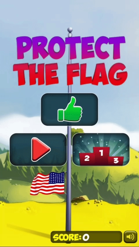 A little tap game we made to celebrate 4th of July