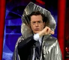 Watch and share Colbert Thread Go Go Go Ff Ff GIFs on Gfycat