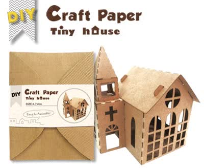 Watch and share > Laser Cut  > Laser Cut Craft Paper Tiny House GIFs on Gfycat