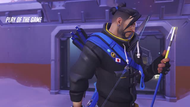 Watch and share Overwatch GIFs and Hanzo GIFs by flameow on Gfycat
