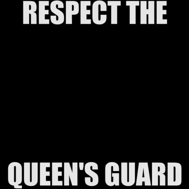Watch and share RESPECT THE QUEEN'S GUARD GIFs by hectorir on Gfycat