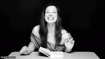Stoya laughing GIFs