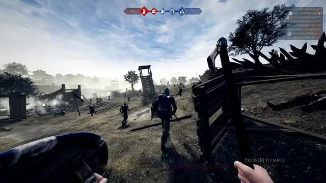 Watch and share Mordhau GIFs and Axe GIFs by pimpmastermcgooby on Gfycat