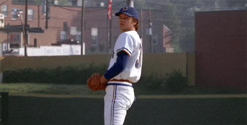 Watch Yahoo Entertainment GIF on Gfycat. Discover more a league of their own, baseball, bull durham, charlie sheen, lori petty, major league, robert redford, the natural, tim robbins, yahoo movies GIFs on Gfycat