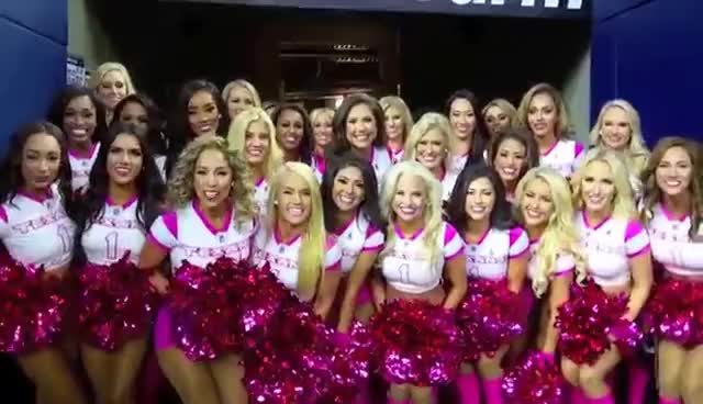 Watch and share Houston Texans Cheerleaders Group GIFs on Gfycat