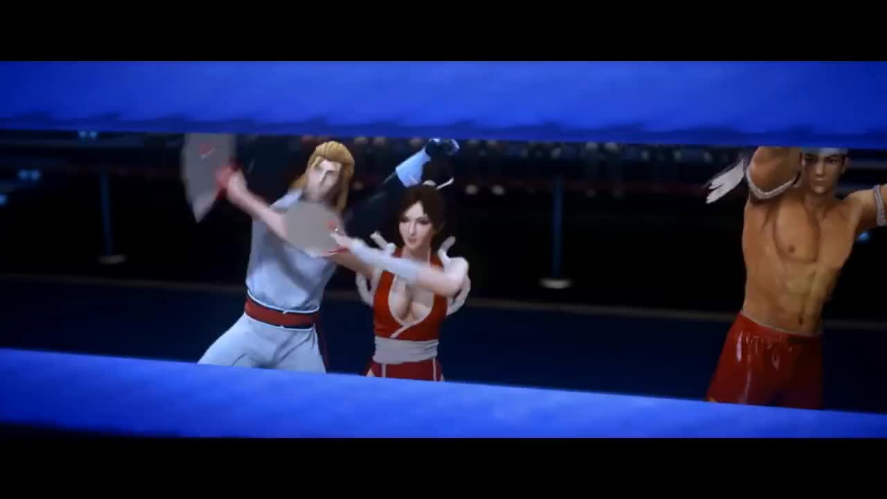 SnK, animation, boxing, kof, neogeo, snk, sports, THE KING OF FIGHTERS: DESTINY – Episode 11 GIFs