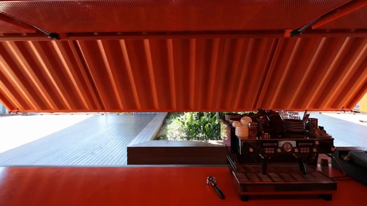 Container cafe GIFs