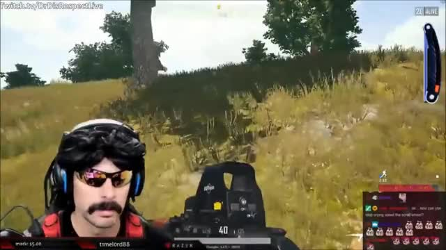 DrDisRespect's First Game on PUBG after New Update - New Items, New Sound Effects, Etc.!: