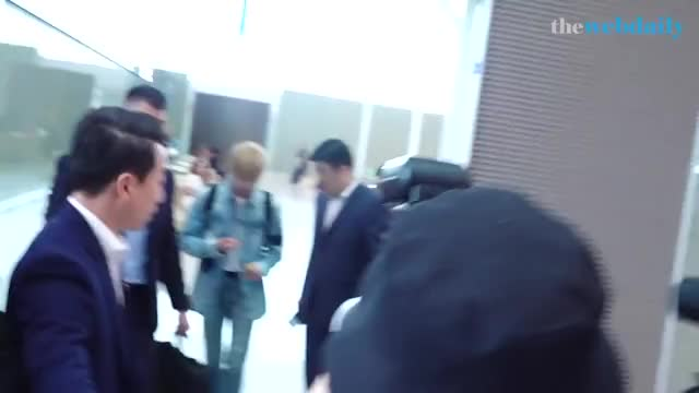 Watch and share Kang Daniel With Bodyguard GIFs on Gfycat