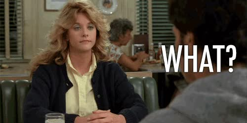 Watch this what GIF by Reaction GIFs (@sypher0115) on Gfycat. Discover more Meg Ryan, say what, wait what, waitwhat, what GIFs on Gfycat