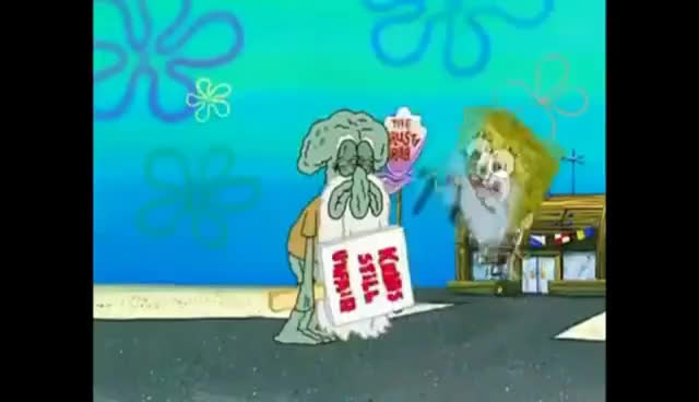 Watch and share Squidward GIFs and Ehhh GIFs on Gfycat