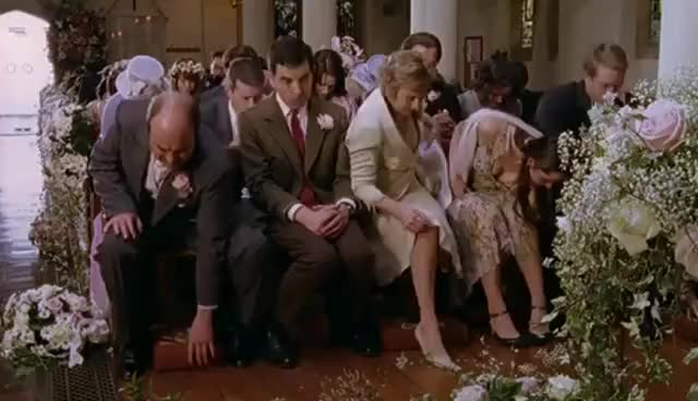 Watch Mr Bean's Wedding | Comic Relief GIF on Gfycat. Discover more related GIFs on Gfycat
