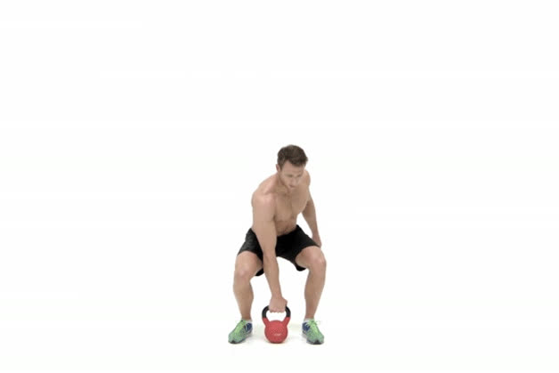 how to do kettlebell snatch GIFs