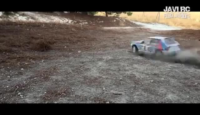Tamiya TT-02 - Lancia Delta Rally GIFs