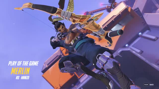Watch and share Overwatch GIFs by Merlin on Gfycat