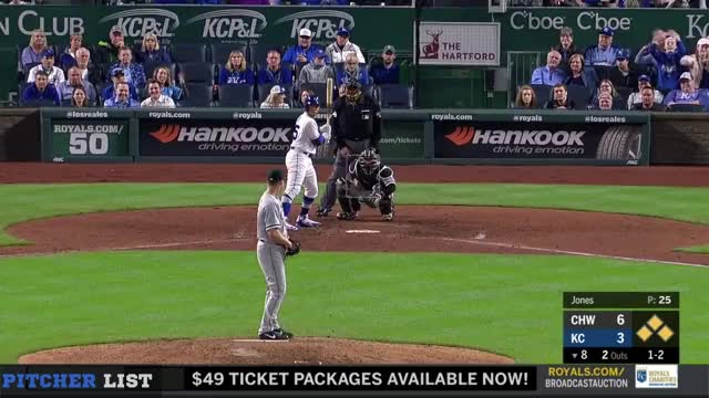 Watch and share Kansas City Royals GIFs and Chicago White Sox GIFs on Gfycat