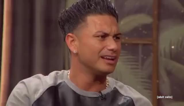 Watch and share Pauly D Part 1 | The Eric Andre Show | Adult Swim GIFs on Gfycat