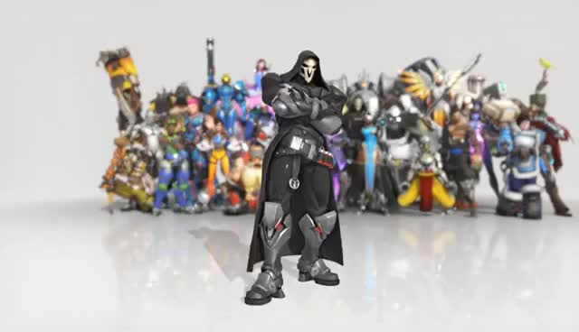 Watch and share Overwatch Reaper Dance Emote Animated Wallpaper 1080p FULLHD GIFs on Gfycat