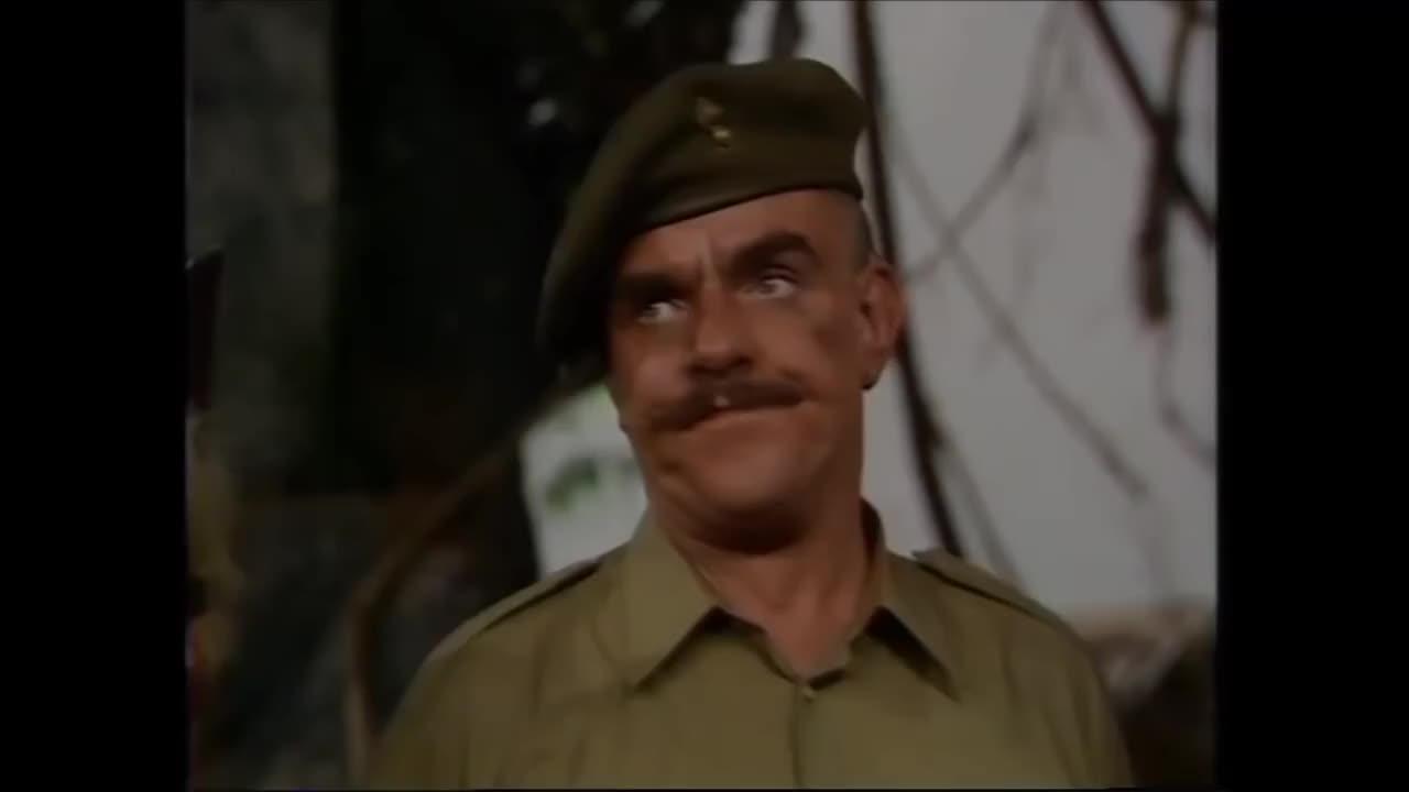 nevermind, OH DEAR - HOW SAD - NEVERMIND! Battery Sergeant Major 'Shut up' Williams GIFs