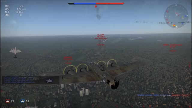 Watch and share 360 B17 Taking Down Aircraft GIFs by namzig on Gfycat