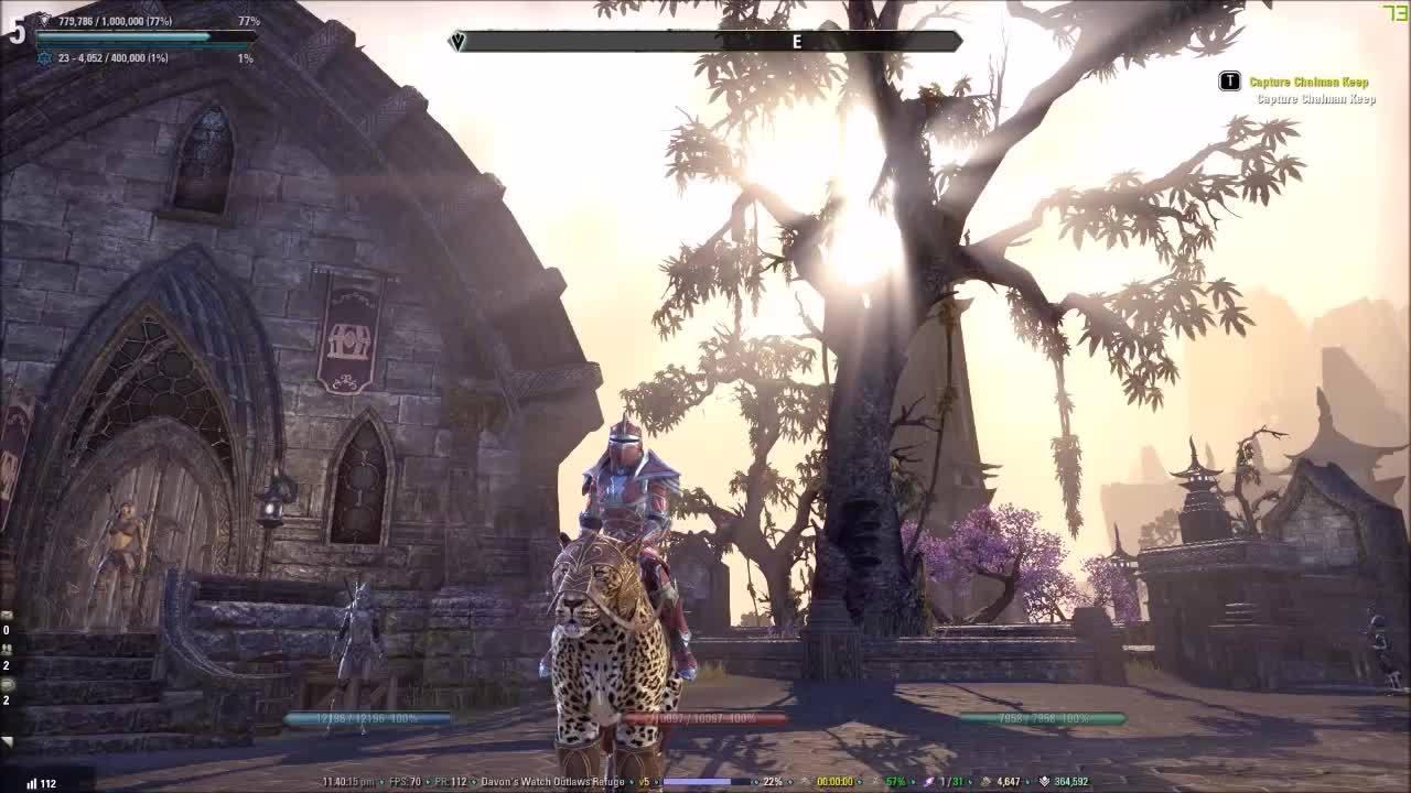 elderscrollsonline, Leopard with armor GIFs
