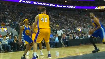 Watch and share JaVale McGee — Golden State Warriors GIFs by Off-Hand on Gfycat