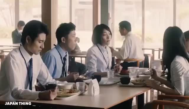 Watch and share Weird, Funny & Cool Japanese Commercials #33 GIFs on Gfycat
