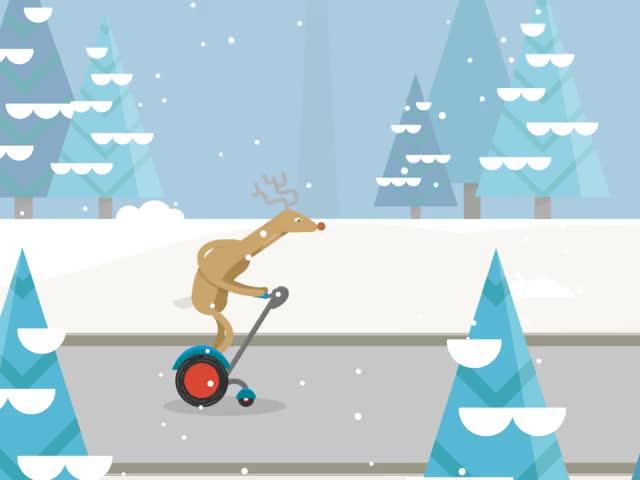 Watch and share Santa Reindeer GIFs on Gfycat