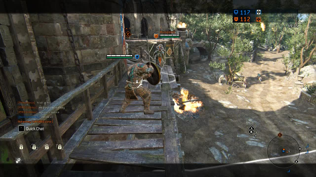 ForHonor, Throw, Warlord, Double Kill GIFs