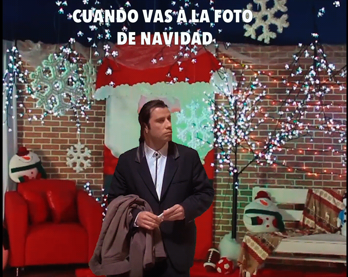 accidentalcomedy, TRAVOLTA NAVIDEÑO 1 GIFs