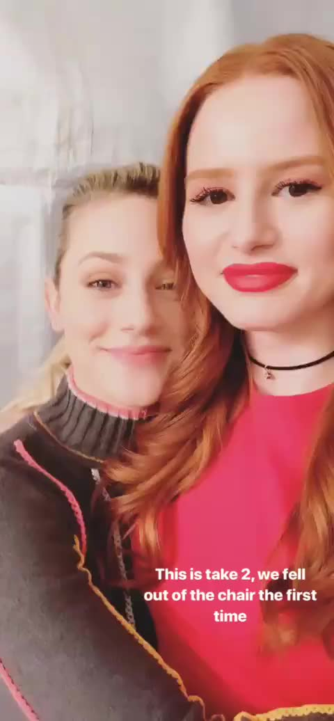 Watch and share Madelaine Petsch GIFs and Lili Reinhart GIFs by Richie on Gfycat
