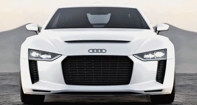 Watch and share 2010 Audi Quattro Concept In 50 High-Res Photos And LED Animations GIFs on Gfycat