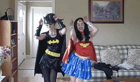 Watch and share Wonder Woman GIFs and Cosplay GIFs on Gfycat