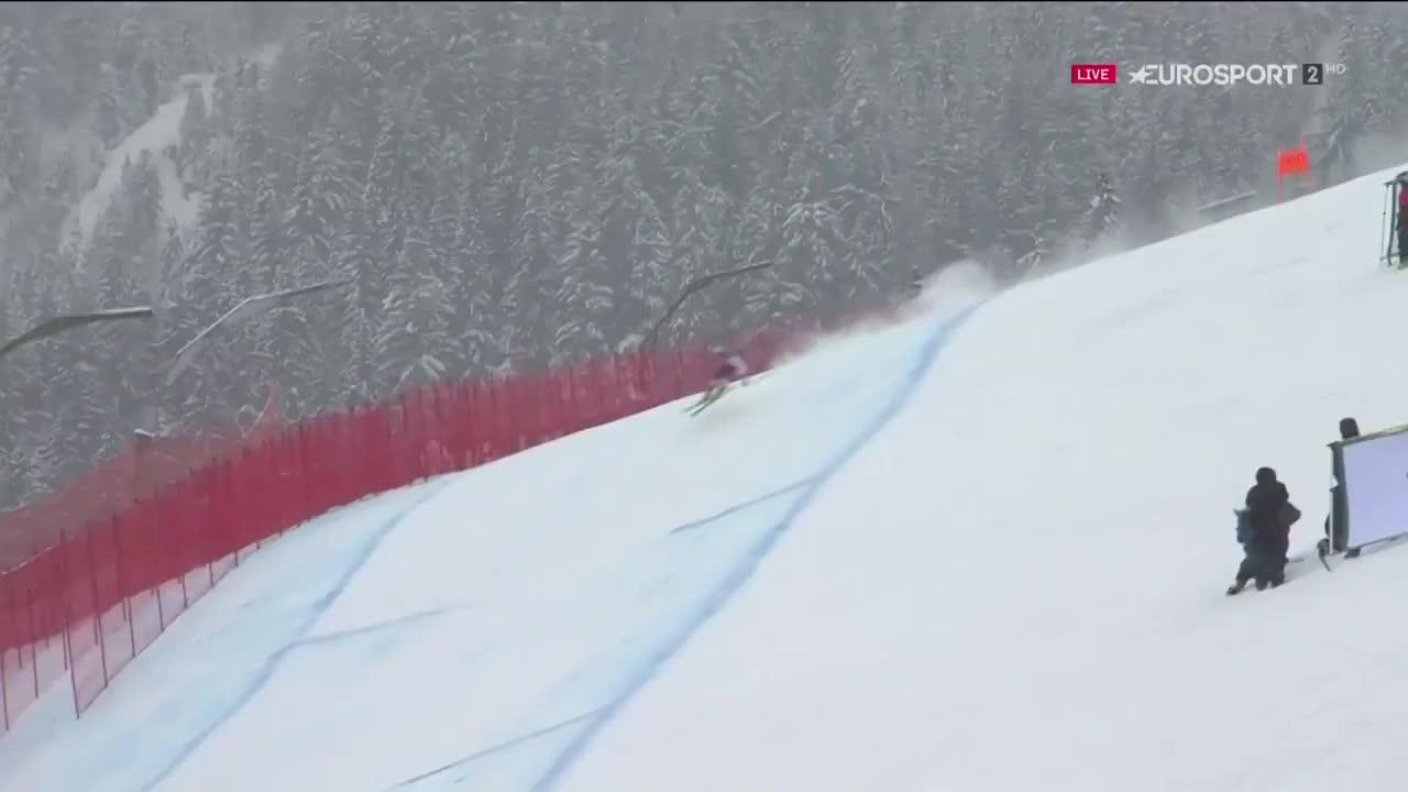 Downhill skiing GIFs