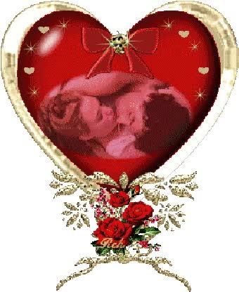 """Watch and share """"Imagen Gif De Un Corazon Con Una Pareja Adentro Y Rosas Rojas"""" GIFs on Gfycat"""