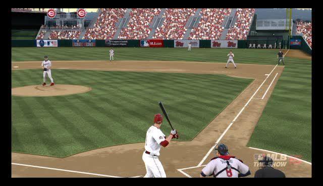 baseballgifs, mlbtheshow, Defensive Urgency GIFs