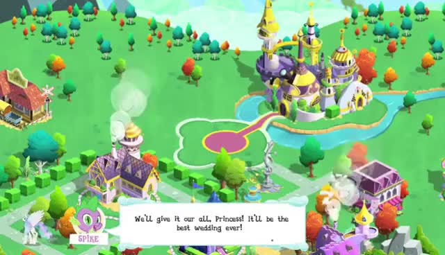 Watch and share My Little Pony: Friendship Is Magic Game - Canterlot Wedding Cheat Playthrough, Part 2 GIFs on Gfycat