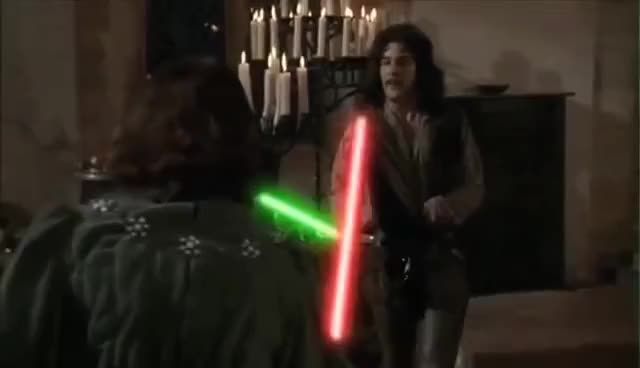 Watch and share Lightsaber GIFs on Gfycat