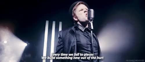 Watch and share Patrick Stump GIFs and Fall Out Boy GIFs on Gfycat