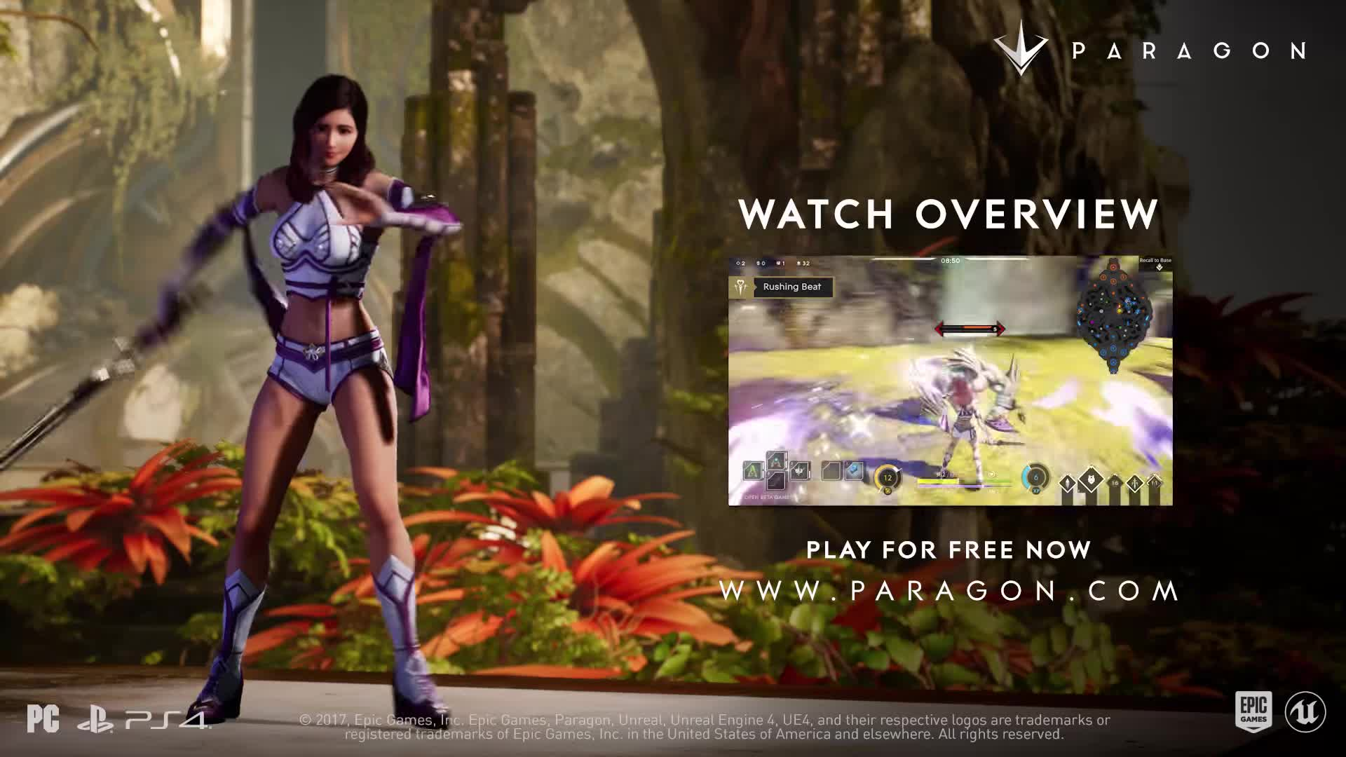 DOTA, Epic Games, Fortnite, MOBA, PC, PS4, Paragon, Unreal Engine, Unreal Tournament, Xbox One, Paragon - Shinbi Announce BJS GIFs
