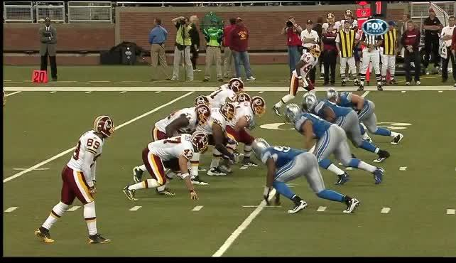 detroitlions, Ndamukong Suh's first (and only so far) NFL TD. 2010. (reddit) GIFs