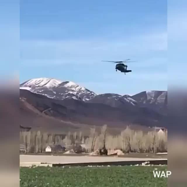 turkish army aviation s70 landing GIFs