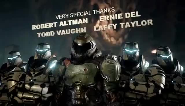 Watch DOOM 2016 End Credits GIF on Gfycat. Discover more related GIFs on Gfycat