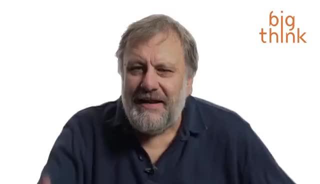 "Watch and share Slavoj Žižek On Political Correctness: Why ""Tolerance"" Is Patronizing GIFs on Gfycat"