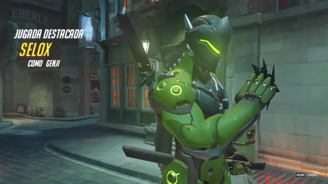 Watch Genji GIF by Manuel Benzal Robles (@seloxmod) on Gfycat. Discover more related GIFs on Gfycat