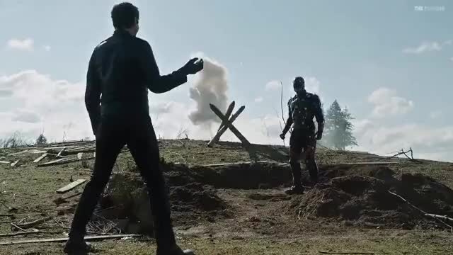 Watch and share DC's Legends Of Tomorrow 2x17 Reverse Flash Kills Ray GIFs on Gfycat