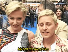 Watch and share Ellen Degeneres GIFs by Reactions on Gfycat