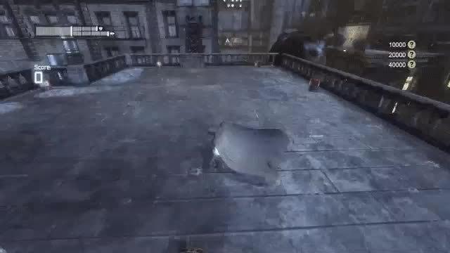Arkham, Batman, batmanarkham, Cluster Slip GIFs